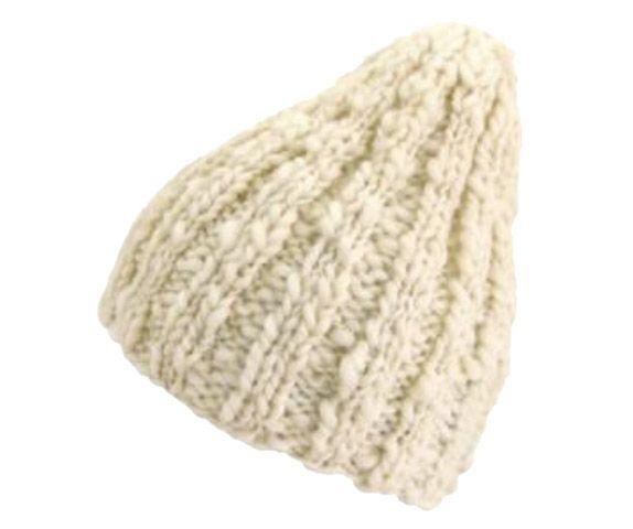 2目ゴム編みの帽子 | 手づくりレシピ | クロバー株式会社