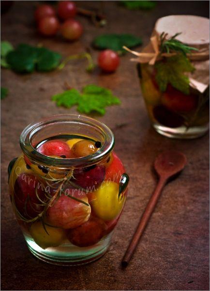 Пикули из винограда