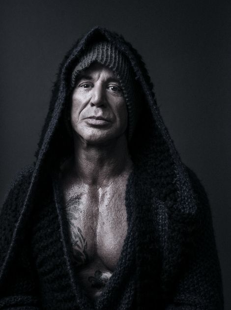 Mickey Rourke | New Work | Andy Gotts MBE