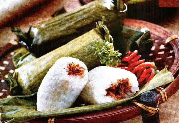 Lemper - Chicken or Abon Filled, Steamed or Roasted, yummy...
