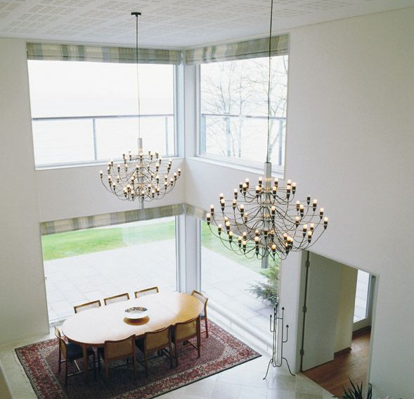 2097 Modern Pendant Lamp designed by Gino Sarfatti from FLOS