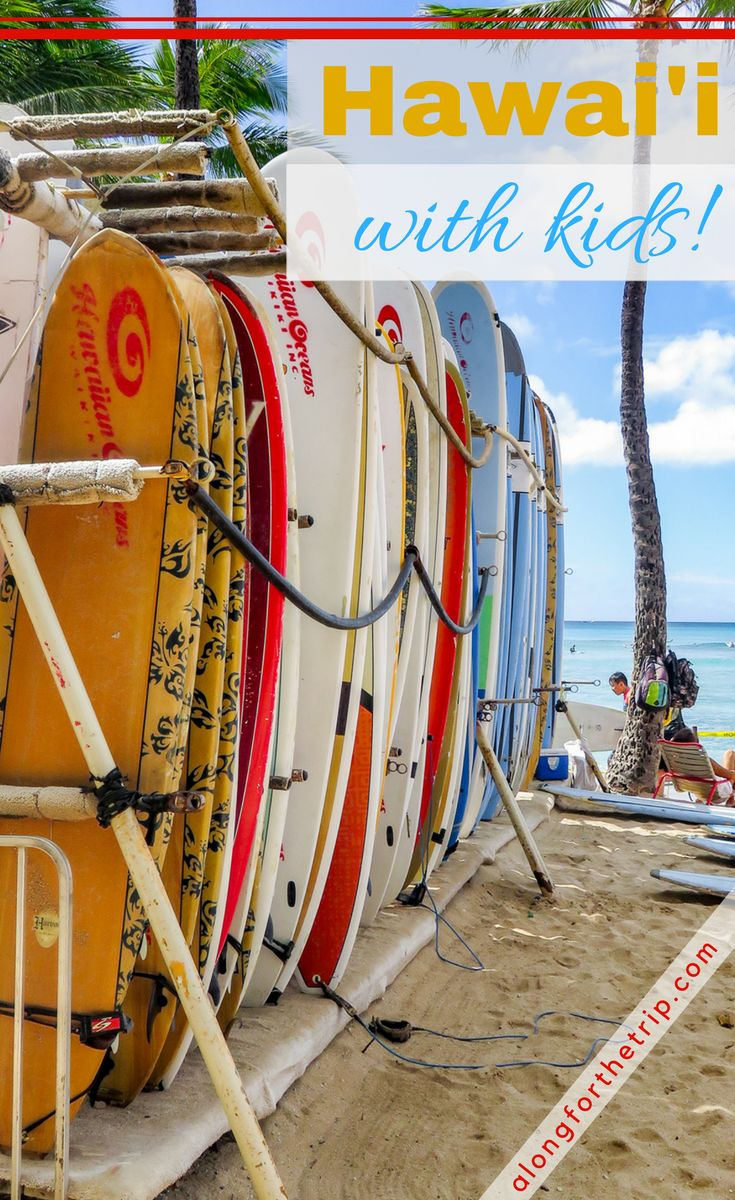 We absolutely loved our time in #Hawaii and we were able to do a lot during our short vacation. If you're planning on visiting Hawaii with kids, check out our list of things to do before you go. #Aloha! | #familytravel #ohana #hawaiianislands #Maui #Waikiki