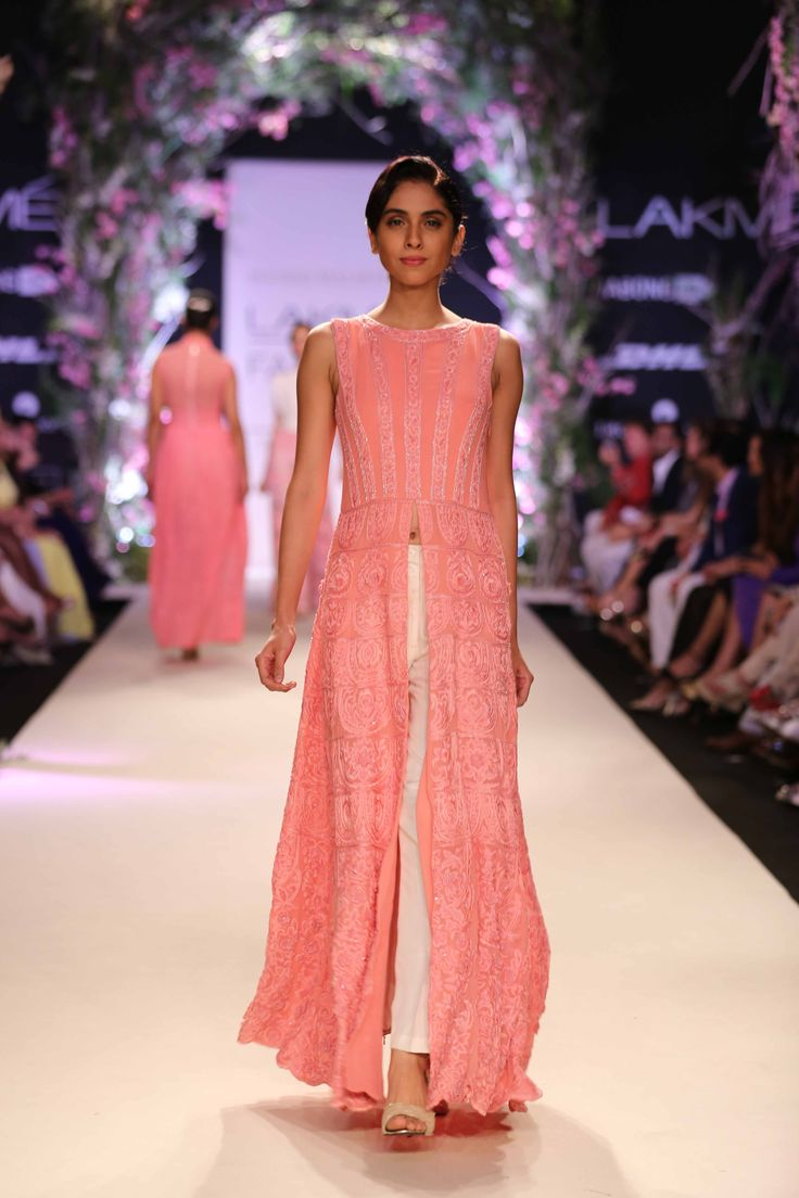 Manish Malhotra @ LFW 2014, love the creaminess of the color!
