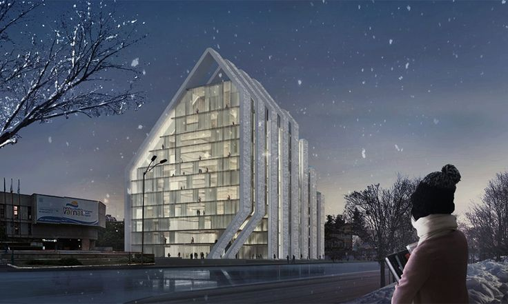 Library of Varna  Project by: Aajaks, USA