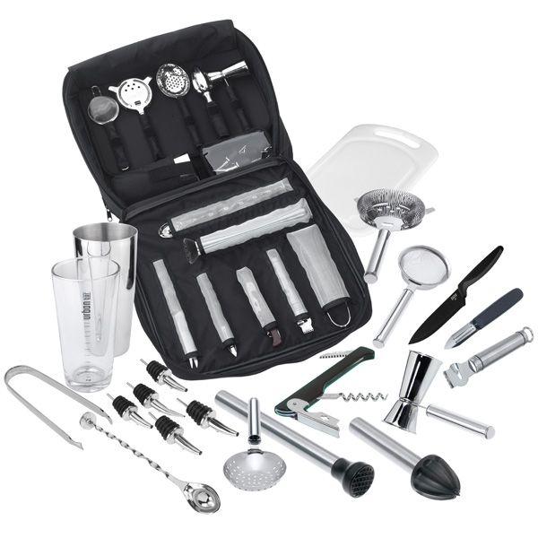 Complete Cocktail Kit Bag | Buy Cocktail Equipment Portable Bar Tools Set - Buy at drinkstuff