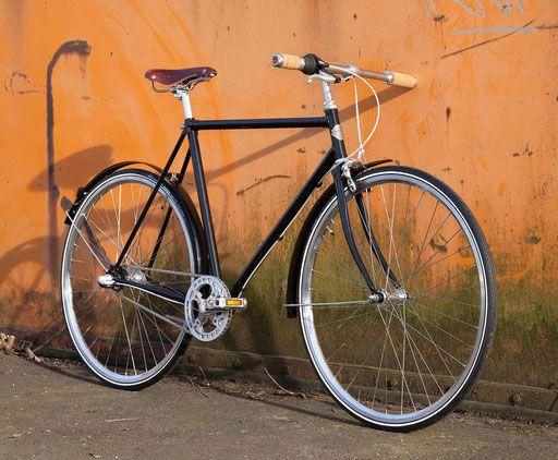 Zweydingers Zweyrad - klassisches Stahlrahmen Fahrrad handmade in Germany - Klassisches Stahlrahmen Fahrrad handmade in Germany