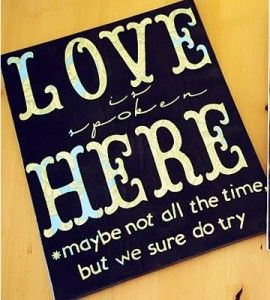 Love Quote Canvas Craft | DIY | Crafts for the Home — Country Woman Magazine