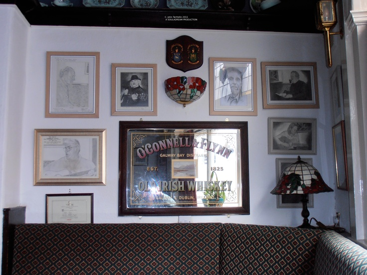 Front room with tributes to Maurice Malone, Chris and Kevin and others on the nearby wall.