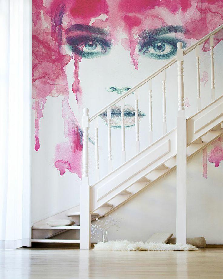 WATERCOLOR: Woman wallpaper from Big-trix.pl | #watercolor #wallpaper #woman