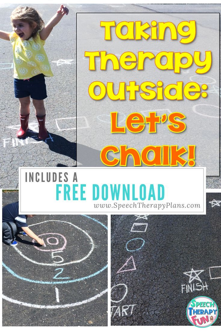 If your students are itching to go outside after being cooped up all winter, here are a few fun speech therapy activities!