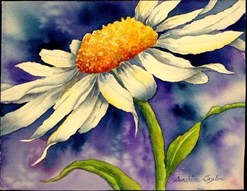 """Flamboyant One"" - Original Fine Art for Sale - © Sunshine Taylor"