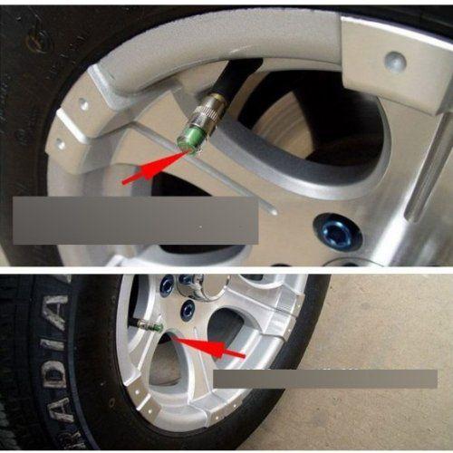 Price Comparisons For KKmoon Mini 2.4Bar 36PSI Car Tire Tyre Pressure Monitor Valve Stem Cap Sensor Indicator 3 Color Alert 0.90.4in Size Sale