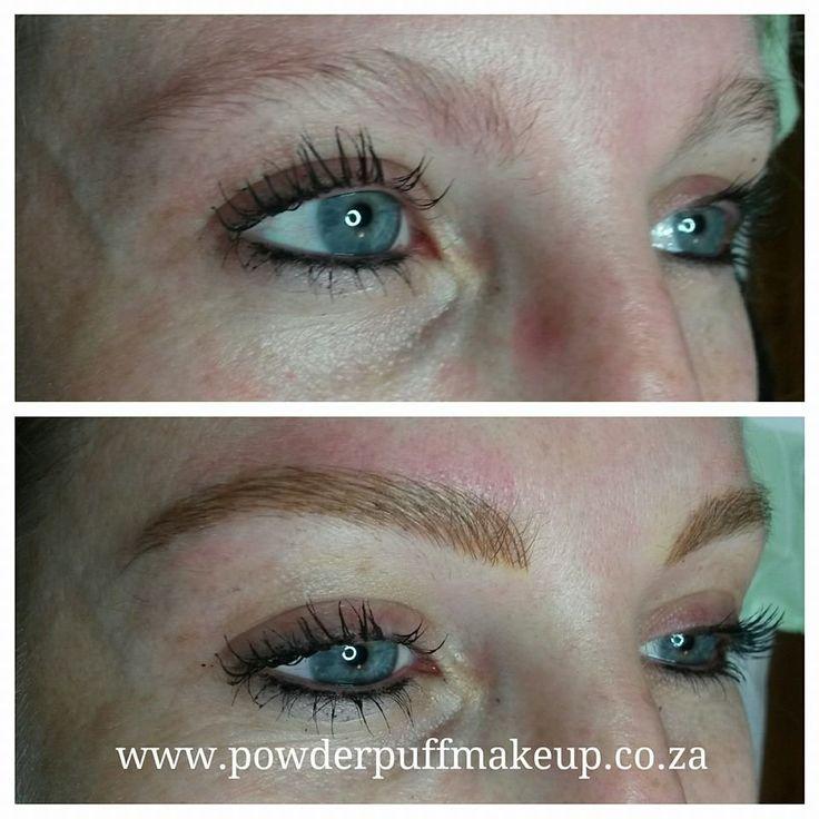Microblade eyebrow tattoo - by #lislboshoff # ...