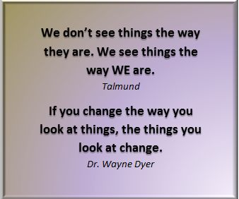 http://www.lifeworkredesign50plus.com ... it can be a challenge to change your way of looking at things, but it's worth it. #DrWayneDyer