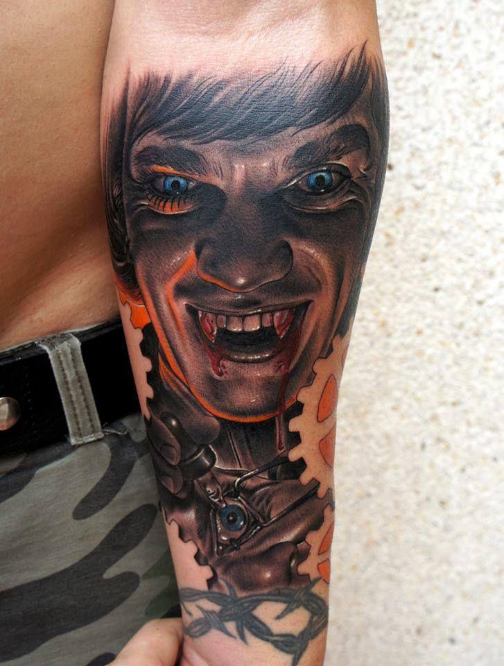 10 Tribal Vampire Tattoo Designs Vampire Tattoo Vampire Tattoo Designs Forearm Tattoos