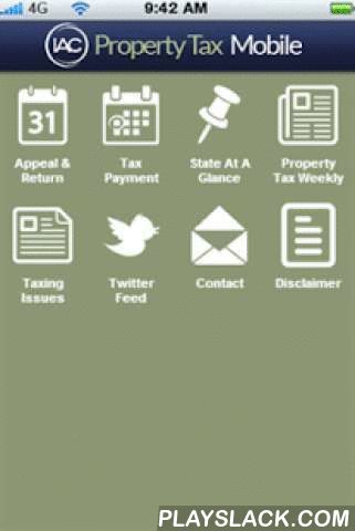 Property Tax Mobile  Android App - playslack.com ,  Property Tax Mobile offers essential property tax information on the go.Appeal & Return Dates - searchable by state or month.Tax Payment Dates - searchable by state or month.State At A Glance - All the essentials in one place for every state in the country.Property Tax Weekly - A mobile view of the property tax weekly e-paper.And more...