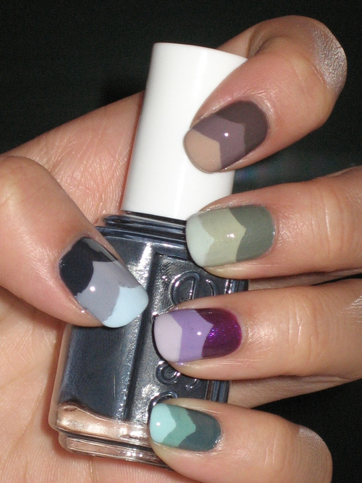 gradient nails. I love them so much and feel the need to buy every nail polish I see to actually do this.