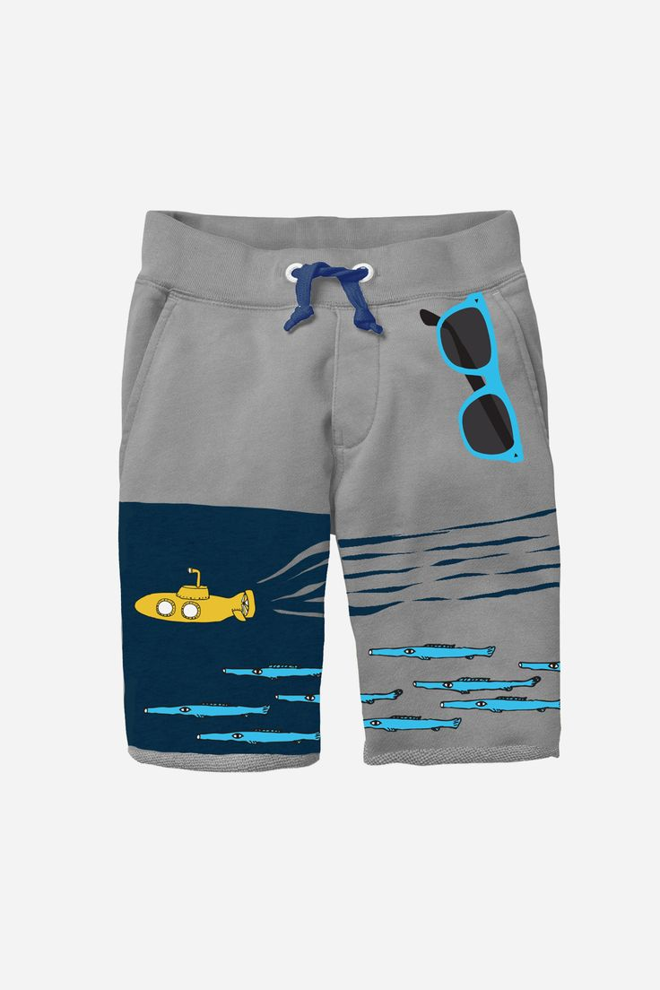 Minishatsu Submarine Shorts