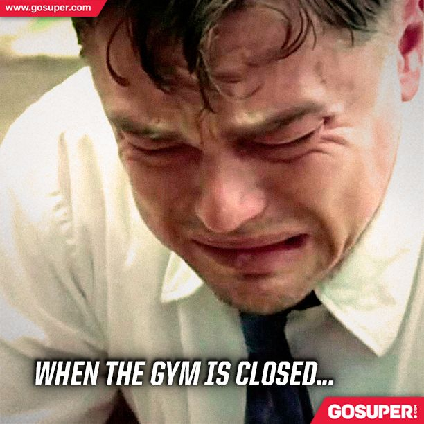 When the gym is closed... #gosuper #nutrition #supplements #sports #gym #workout