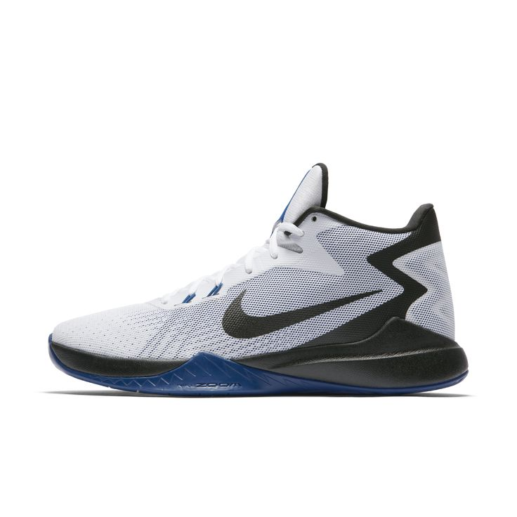 Nike Zoom Evidence Men's Basketball Shoe Size 10.5 (White) - Clearance Sale  | Products | Pinterest | Nike zoom and Products