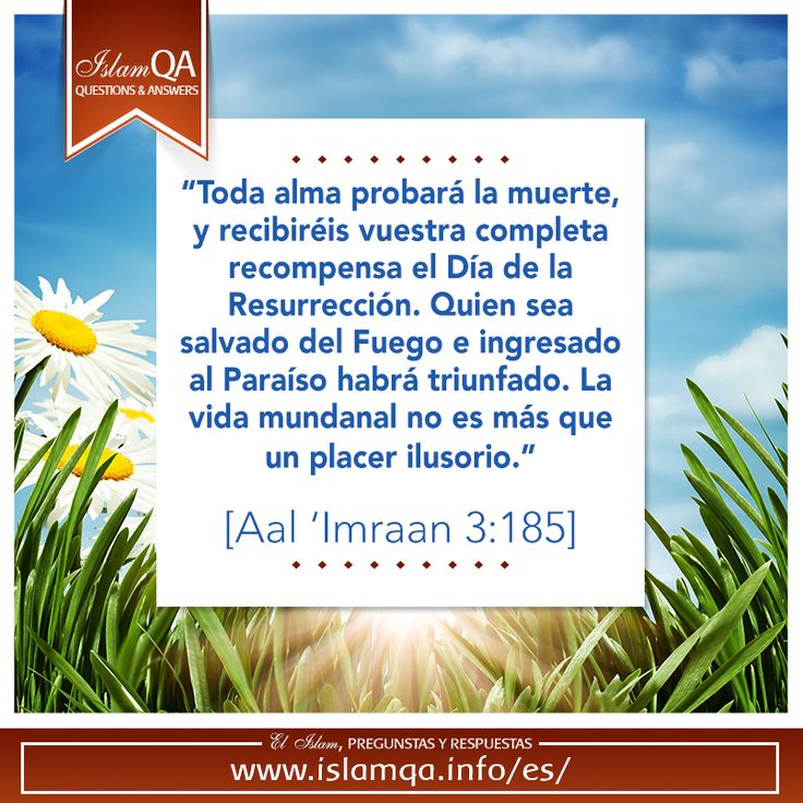 Everyday poster for Islam QA in spanish.