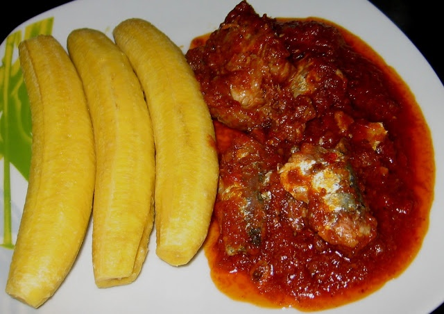 Boiled plantain and fish stew nigeria pinterest for African fish recipes