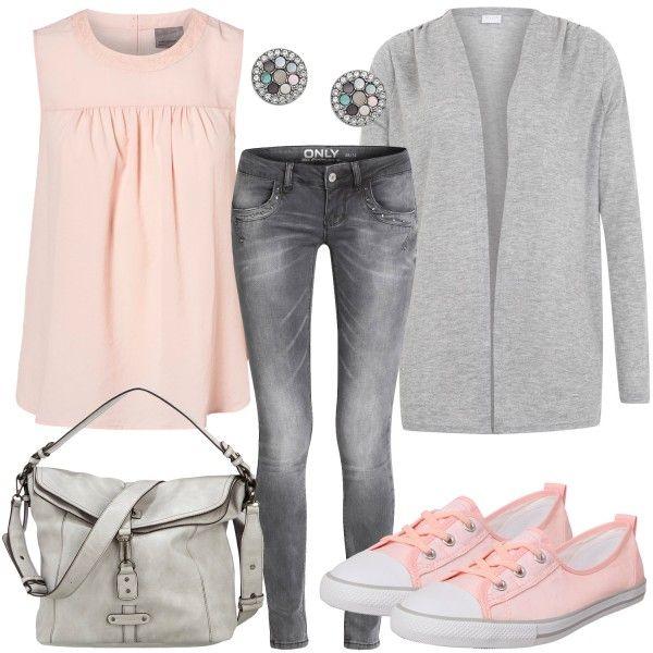 Frühlings-Outfits: Rosa