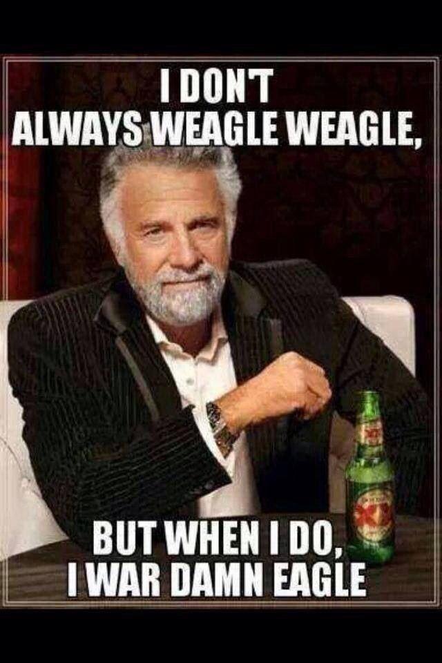Weagle Weagle, War Damn Eagle