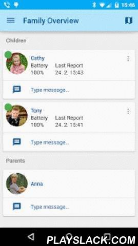 Guardian's FamilyWatch  Android App - playslack.com ,  The FamilyWatch application for guardians is part of the unique FamilyWatch service offering a way for the user to protect its loved ones. The application receives warnings from the server part of the service. Warnings indicate the violation of rules specified for the dependant's location or communication checks. The application also allows viewing the real-time location and route of the dependant on a map. The application must be…