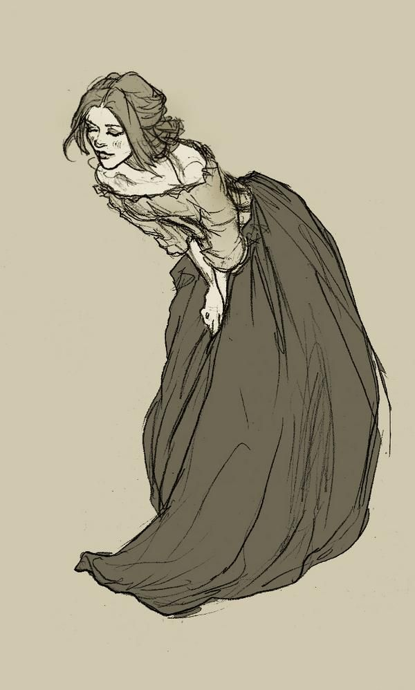 by Abigail Larson #folds #cloth #pose