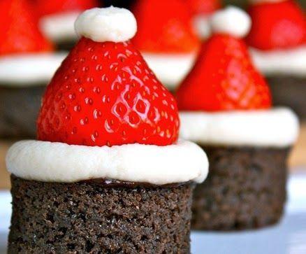 Новогодние шоколадные кексы-маффины ~ Книга рецептов на блогспот