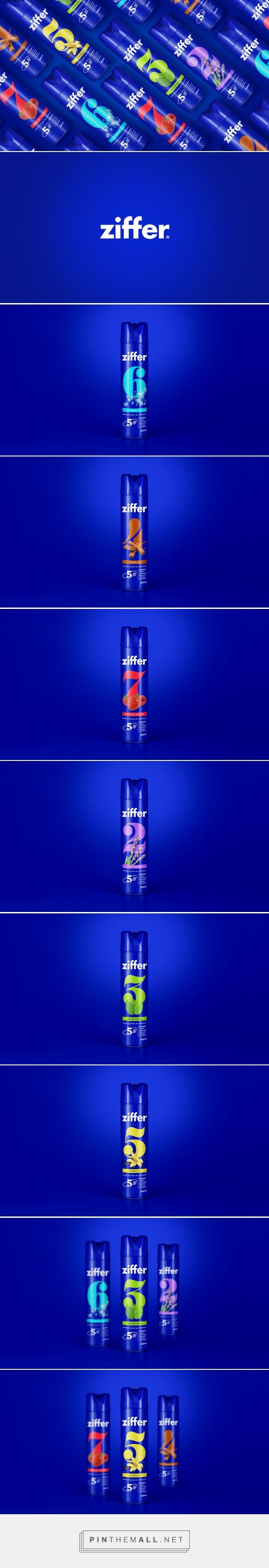 ZIFFER Air Freshener packaging design by Vórtice·Estudio -  http://www.packagingoftheworld.com/2017/05/ziffer.html
