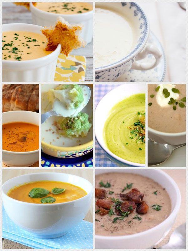 8 Recetas de Cremas de Verduras