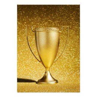 gold trophy cup | Achievement Invitations, 1,000+ Achievement Invites & Announcements