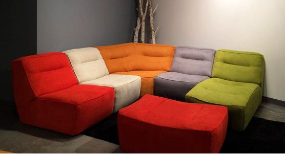 Luonto Arena Club Sectional | Ambiente Modern Furniture