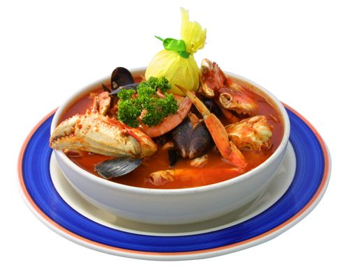 CIOPPINO from Phil's Fish Market, in Moss Landing, CA.... this won over Bobby Flay's in a throw down!  I just ate there this week (had this cioppino) and it's out of this world!