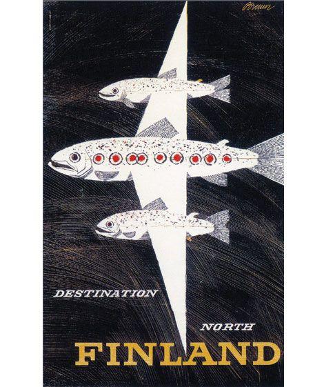 Finland. Vintage travel poster.Vintage Posters, Travelposters, Picture-Black Posters, Travel Photos, Vintage Pictures, Travel Tips, Finland Travel, Vintage Travel Posters, Erik Bruun