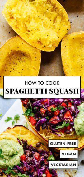 Wie man Spaghetti-Kürbis kocht (der beste Weg!)