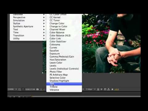 ▶ After Effects CS6 - Color Correction for Cinematic Look - Video Tutorial For Beginners - YouTube