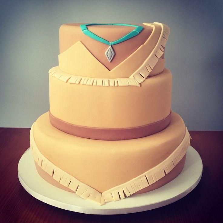 Disney cake Princess cake Pocahontas sweet cake ideas                                                                                                                                                      More