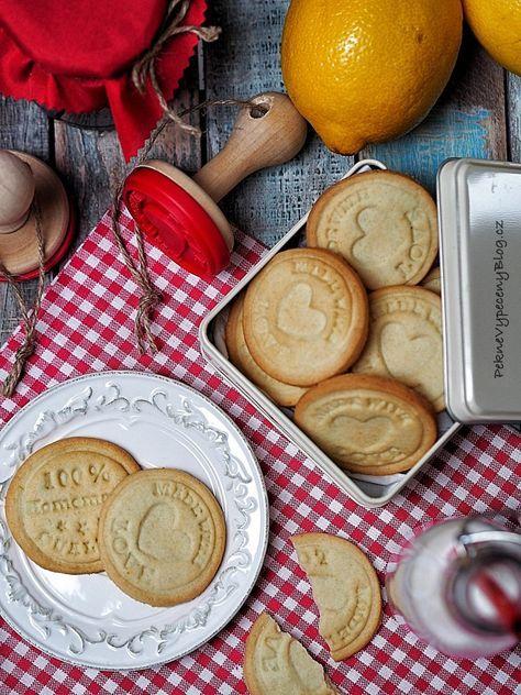 Citronové sušenky - Lemon cookies www.peknevypecenyblog.cz