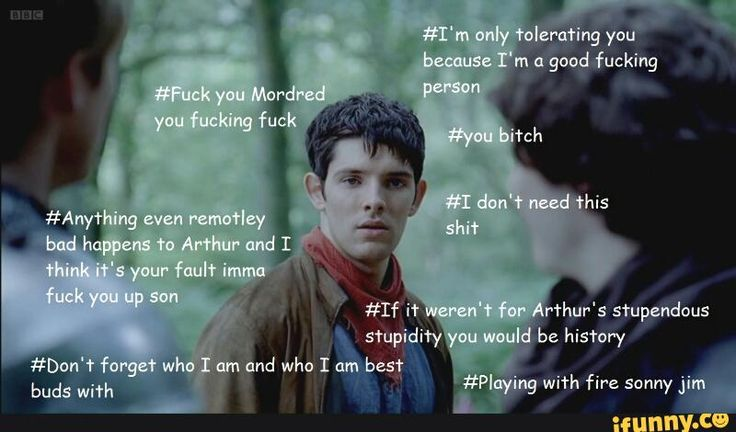 #merlin, #mordred