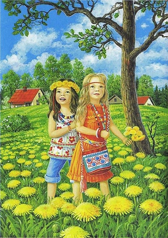 Быть счастливым каждым днём...Времена года в иллюстрациях Любови Новоселовой. Обсуждение на LiveInternet - Российский Сервис Онлайн-Дневников - Google zoeken