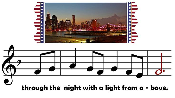 God Bless America with lyrics and notes by ~Visual Musical Minds~