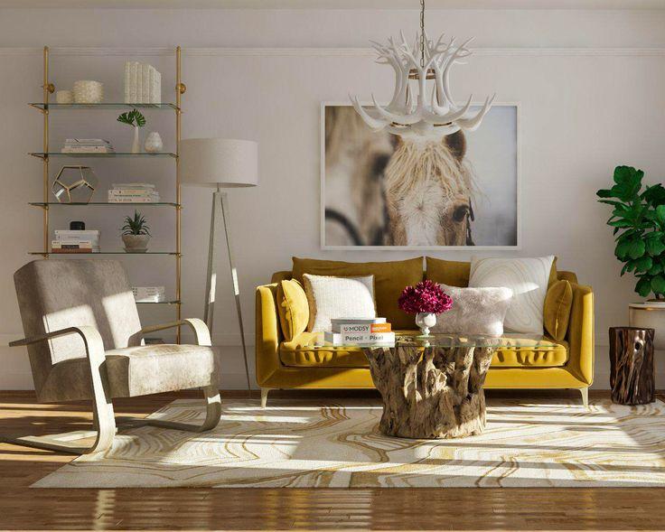 Rustic Chic Living Room Ideas.