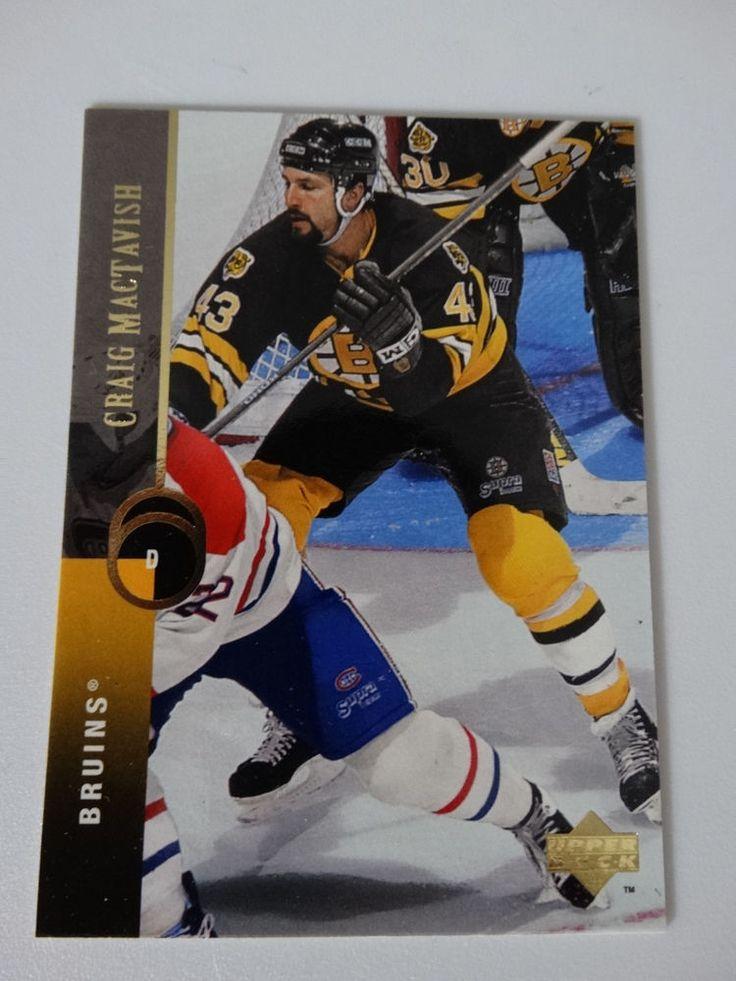 1994-95 Upper Deck #82 Al Iafrate Boston Bruins Hockey Error Wrong Name Card #BostonBruins