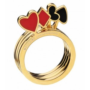 """Cheap and Chic ring by """"Moschino"""""""