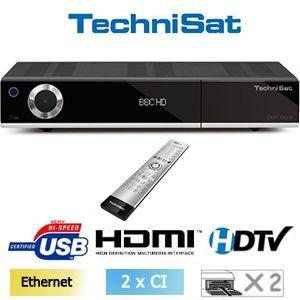 Technisat DIGIT ISIO S - Terminal numérique HD - Double Tuner - 2 x lecteur de carte -  2 x CI+  - 3 x USB - Ethernet - Accès Internet
