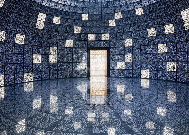 Russian Pavilion QR codes at the Venice Architecture Biennale 2012