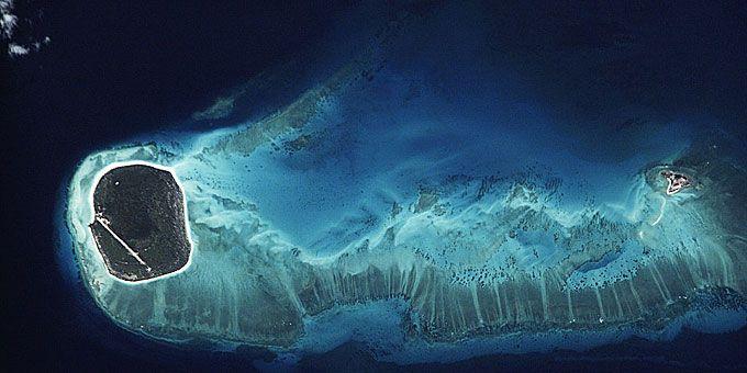 Η απίστευτη ομορφιά της Γης… από ψηλά! Δύο νησάκια του Ινδικού Ωκεανού από ψηλά